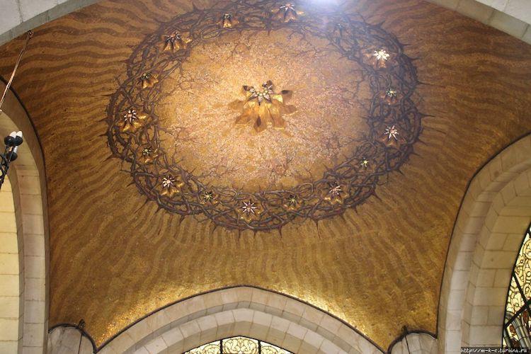 Терновый венец, Иерусалим, церковь Бичевания