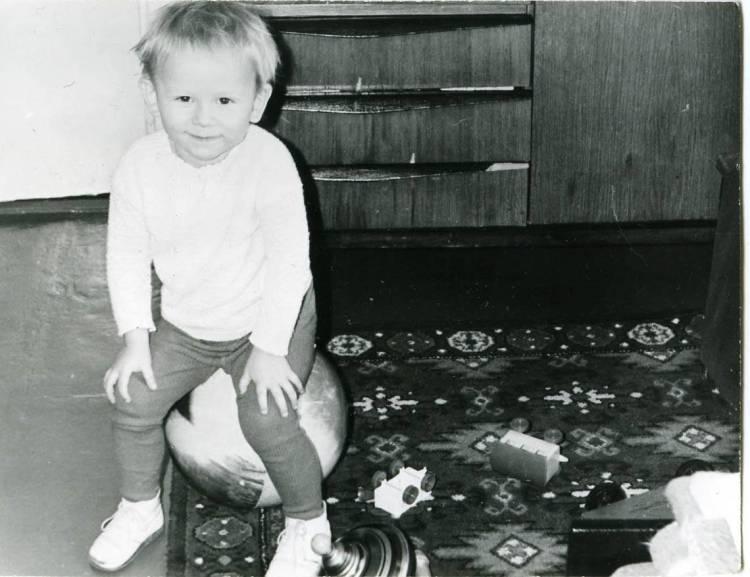 Фоззи в детстве