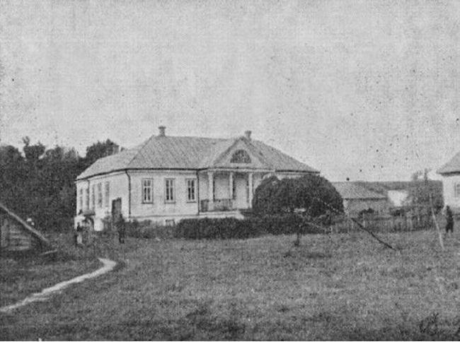 Дом Костомаровых в слободе Юрасовке, жилье историка Костомарова