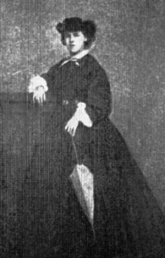 Жена Костомарова, Алина Леонтьевна Кисель-Костомарова, Костомаров