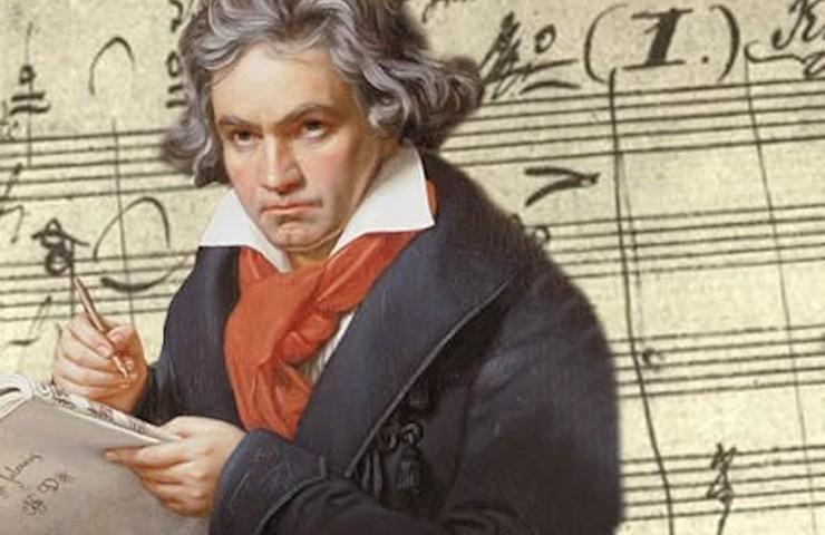 Бетховен, талант, композитор, ноты