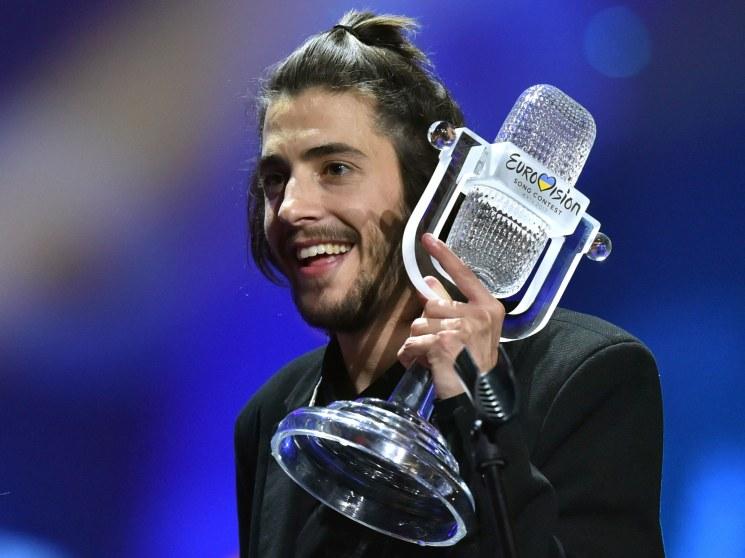 Победитель Евровидения Сальвадор Собрал