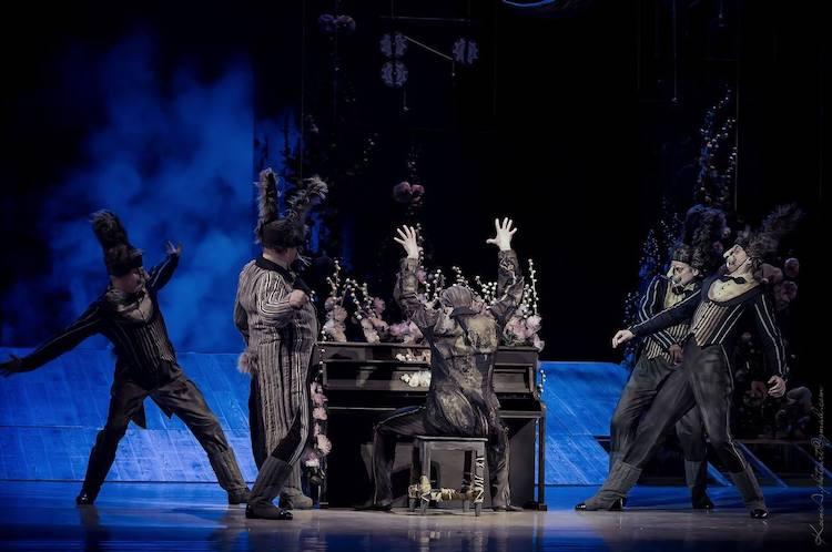 Национальная опера Украины премьера балета За двумя зайцами, зайцы, Голохвастов