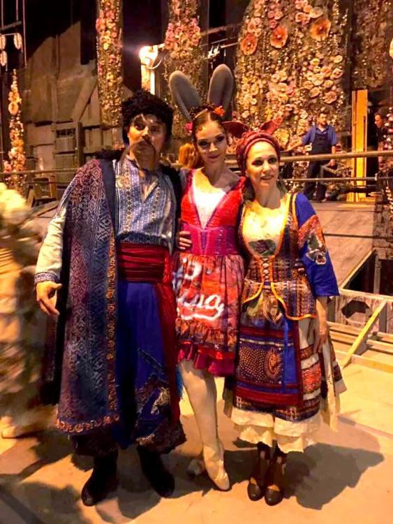 За двумя зайцами, балет, Проня Прокоповна, закулисье, Екатерина Козаченко
