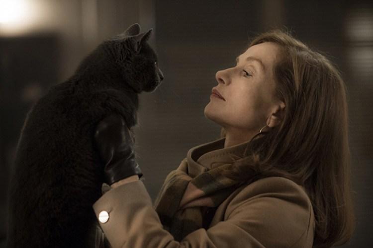 """Изабель Юппер, кадр из фильма """"Она"""""""