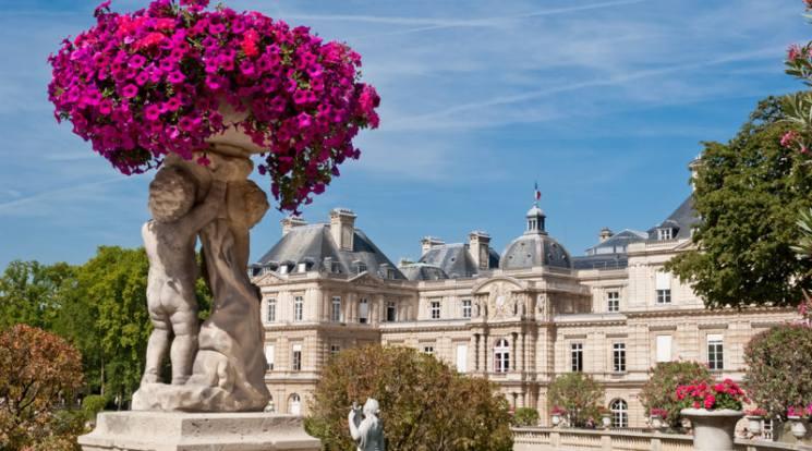 Фишки дня — 25 августа, Париж, Люксембургский сад