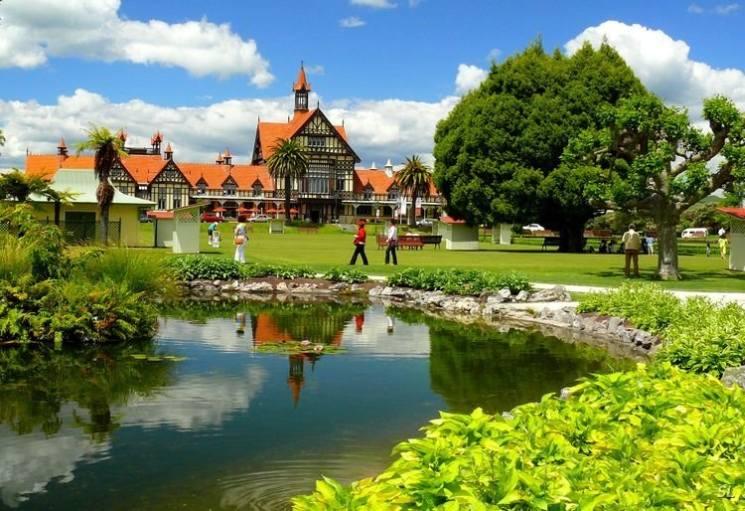, природа, новая зеландия