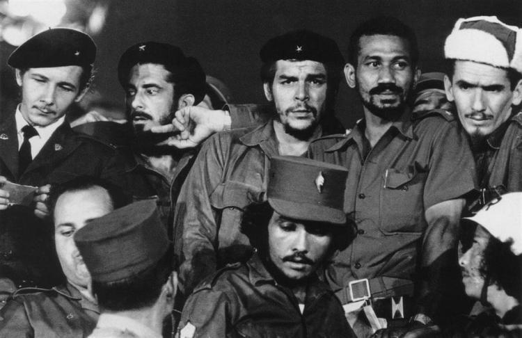 Че Гевара с соратниками, фото Че Гевара