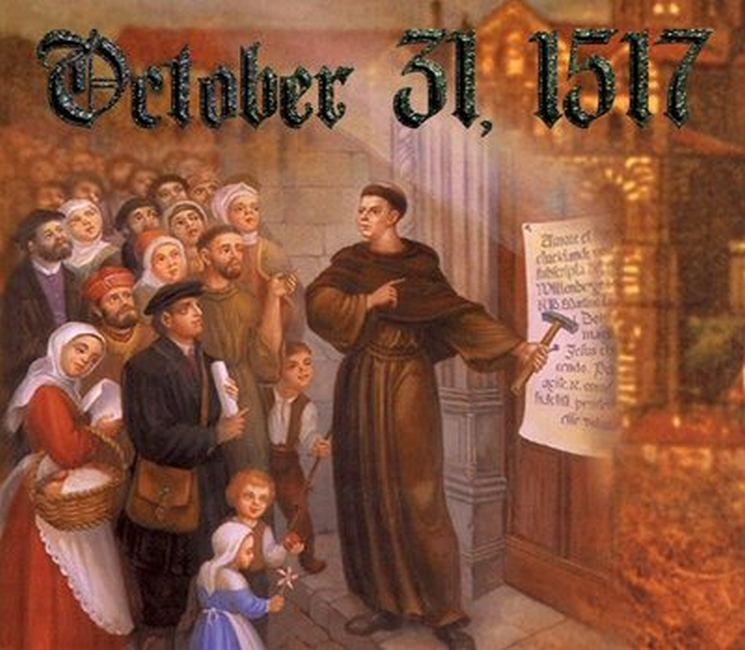 фишки дня, Мартин Лютер, День реформации