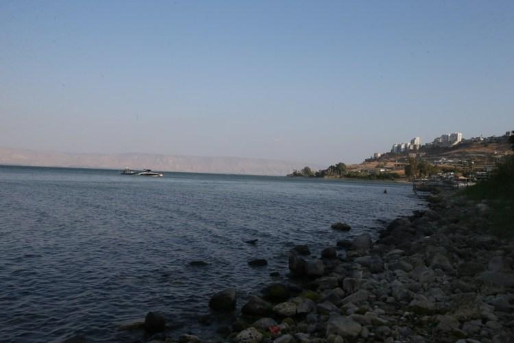 Галилейское море, берег