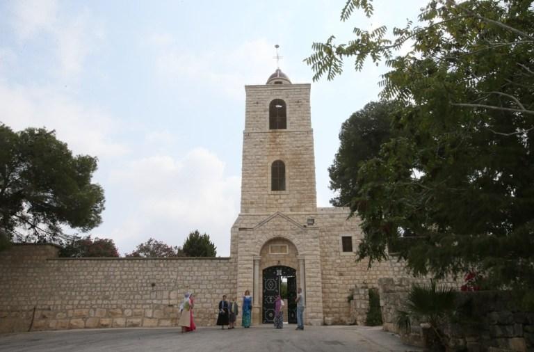 Фавор.Православный монастырь на горе Фавор