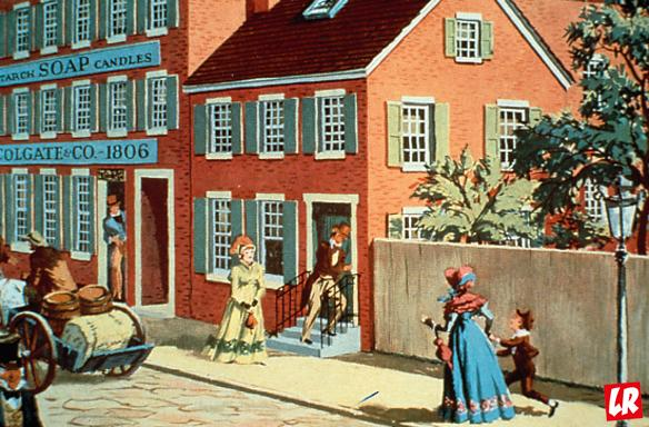 первая фабрика колгейт, Нью-Йорк