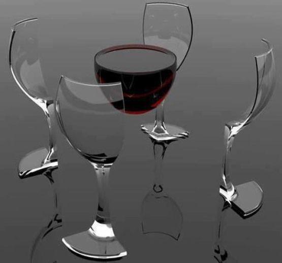 Тринадцатый ангел, бокал вина