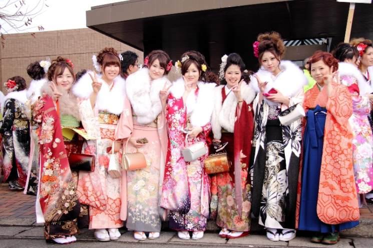 Фишки дня — 8 января, День совершеннолетия в Японии