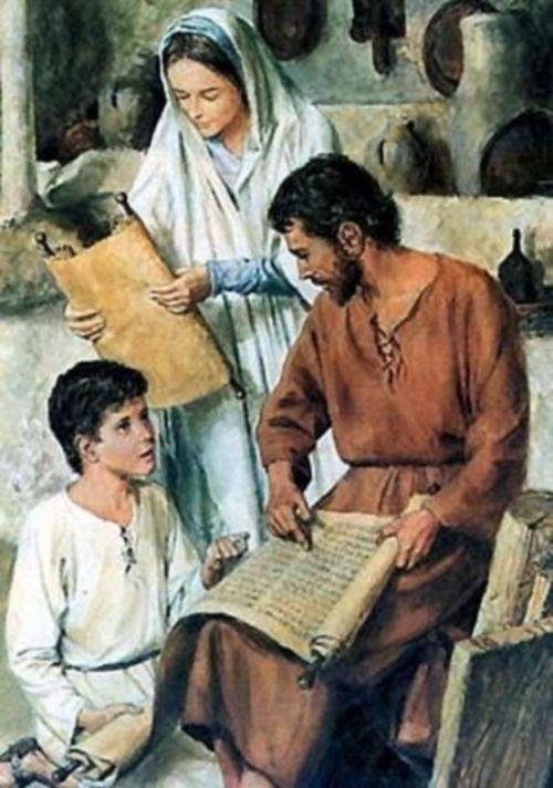 Иосиф Обручник, святое семейство