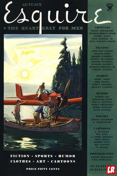 esquire, журнал, 1933