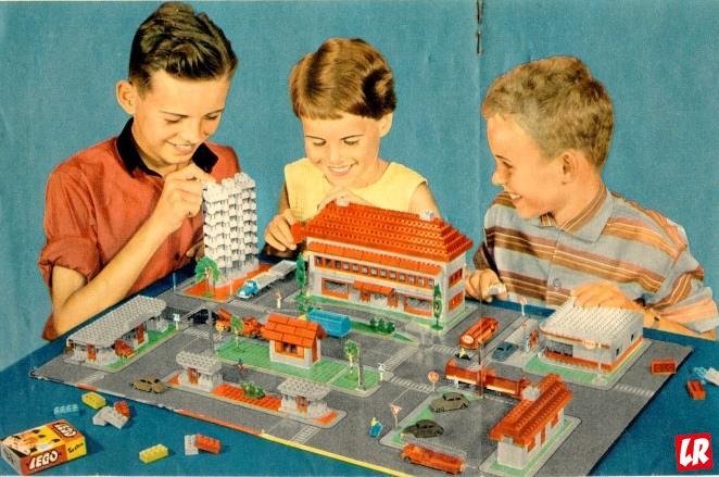 история LEGO, конструктор 1961 года, лего
