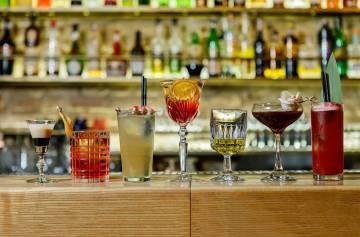 карта коктейлей, рецепты коктейлей, газета Сегодня, алкоголь, стойка бара