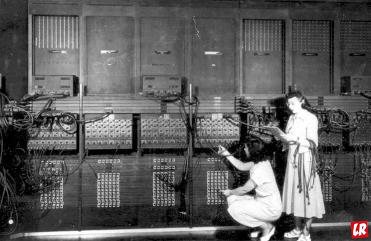 фишки дня - 14 февраля, Первый компьютер, день компьютерщиков, ENIAC