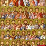 фишки дня, мучеников 42 в Амморее