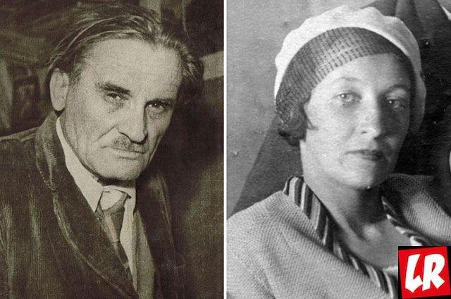 Юрий Олеша и Серафима Суок