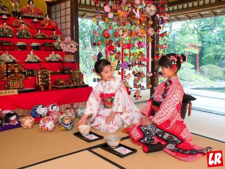 фишки дня - 3 марта, Хинамацури, праздник девочек в Японии, праздник кукол хина