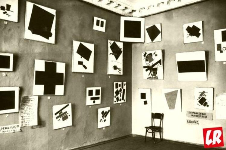 Малевич, картины, черный квадрат, черный крест, супрематизм