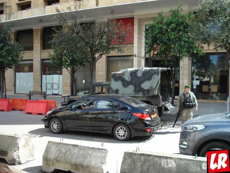 Бейрут, военные в Ливане