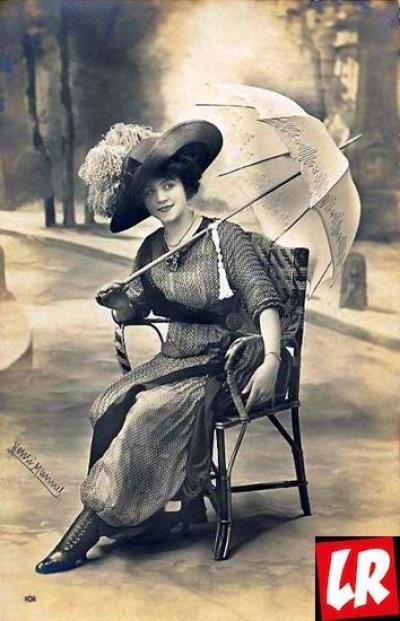 юбка-брюки, история моды
