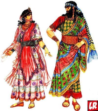 Ассирийцы, костюм, кандидат