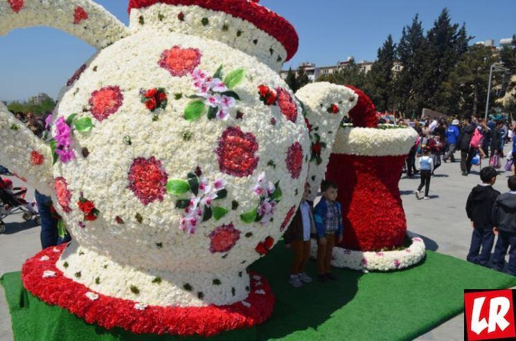 фишки дня - 10 мая, Праздник цветов Баку, праздники Азербайджана