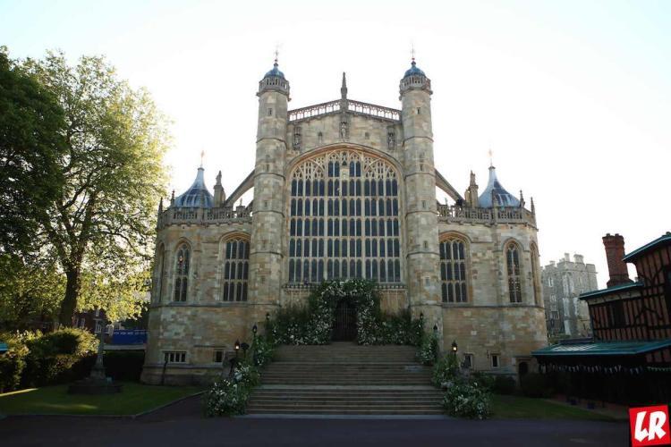 свадьба принца Гарри, Виндзор, церковь