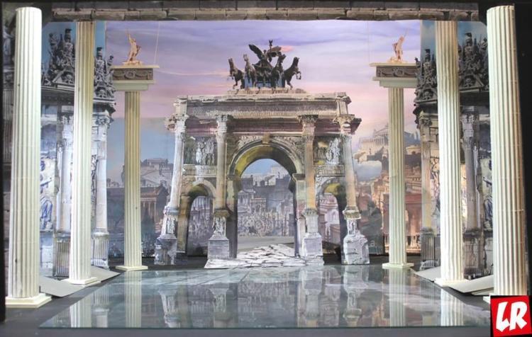 Национальная опера Украины в июне, афиша, Киев, Юлий Цезарь