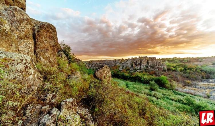 Отдых на выходные, Актовский каньон, Украина