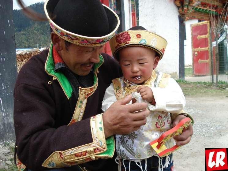 Тибет, Лулан, тибетцы