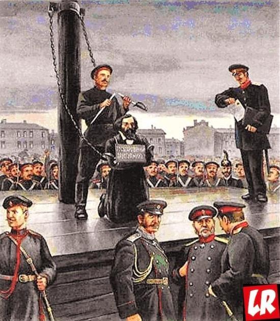 Гражданская казнь Чернышевского, Чернышевский