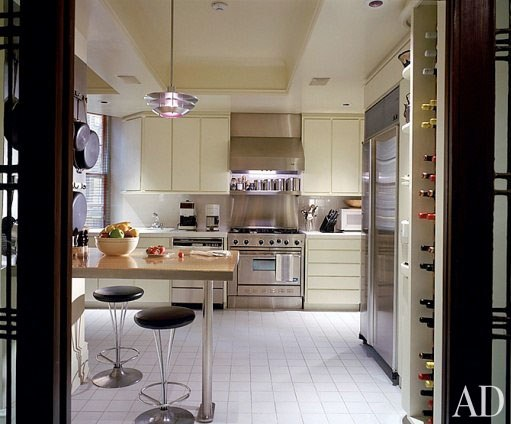 Мадонна, Нью-Йорк, квартира, кухня