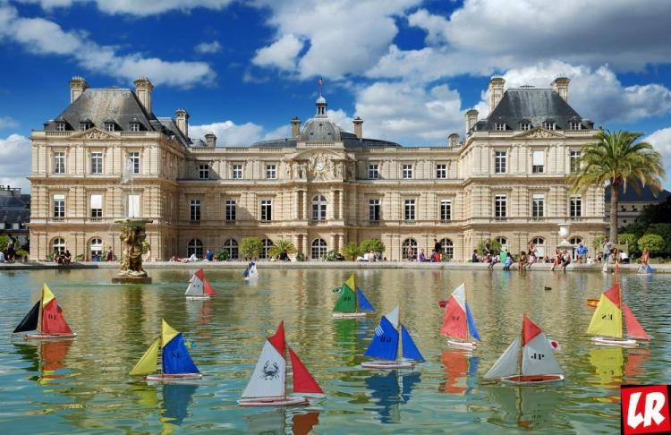 Люксембургский сад, Латинский квартал, фонтан
