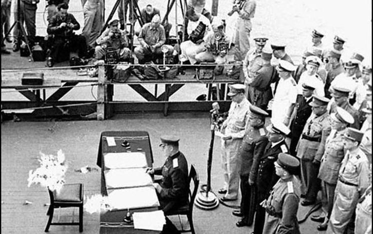 Фишки дня - 2 сентября, окончание Второй мировой войны, акт капитуляции Японии