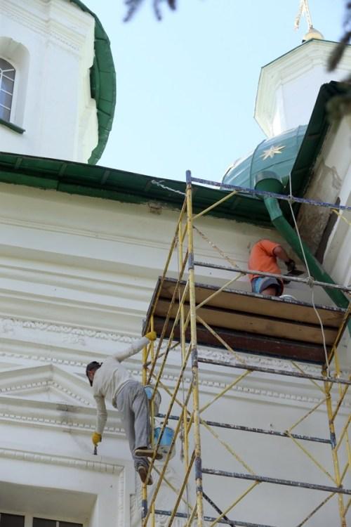 Мгарский монастырь, история Мгарского монастыря, реставрация