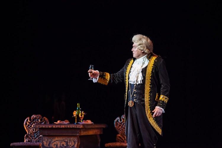 Моцарт и Сальери, опера в октябре