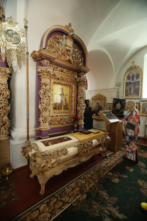 Полтавский монастырь, спецпроект Тайны монастырей, Мощи святителя Афанасия в Крестовоздвиженском соборе