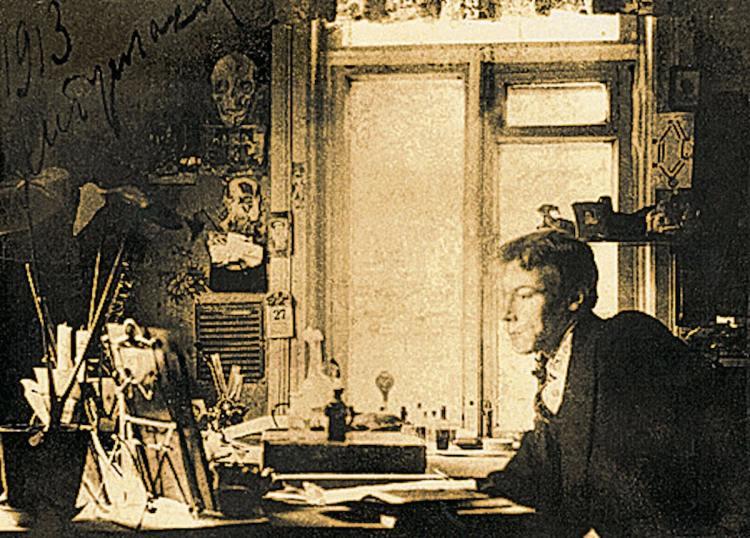 Дом Булгакова, Михаил Булгаков, Киев, Украина, писатель, Андреевский спуск, музей Булгакова, редкое фото Булгакова