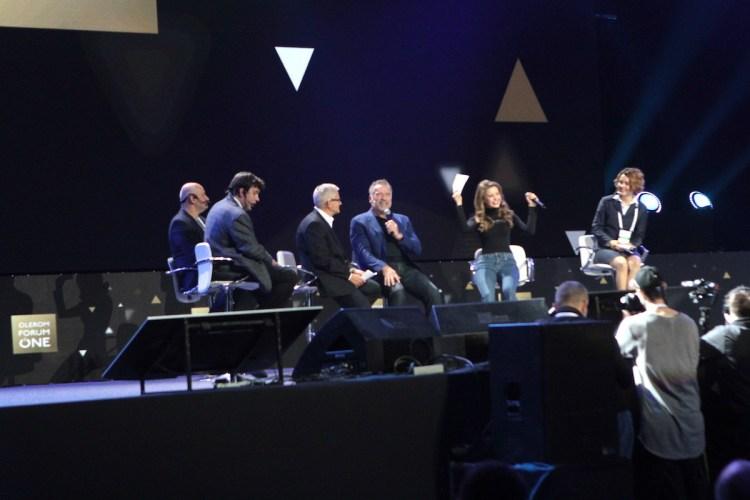 olerom forum one, Арнольд Шварценеггер, интервью, киев