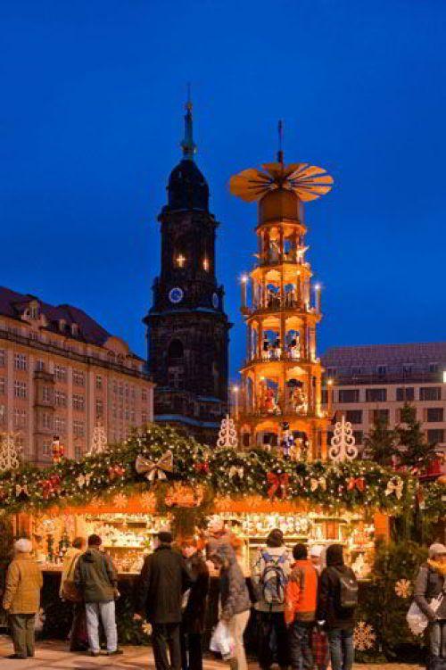 Рождественские ярмарки, Дрезден