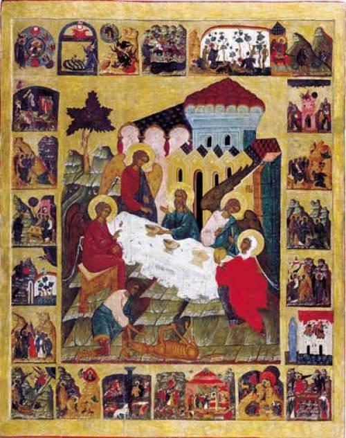 молитвы о детях, авраам и сарра, святые угодники, иконы рождества
