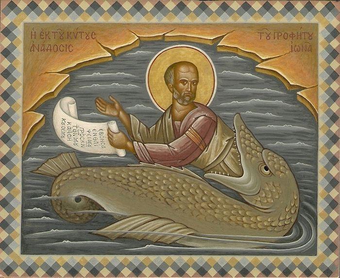 Святотатство и предупреждение, пророк Иона