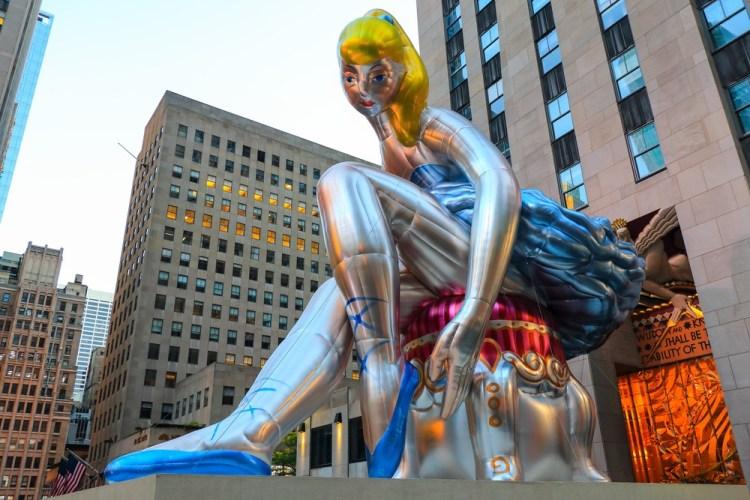 балерина, Кунс, нью-йорк, рокфеллер центр, музей истории киева, фарфор