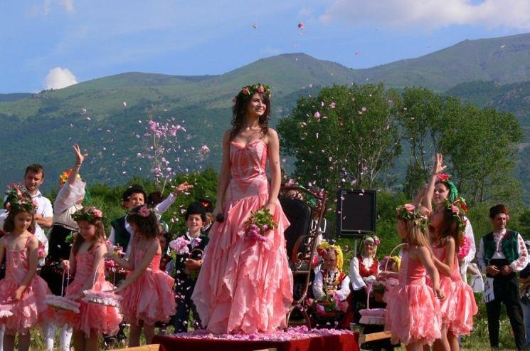 фишки дня - 31 мая, фестиваль розы Болгария