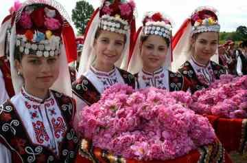 фишки дня, фестиваль роз Болгария